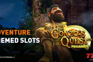 Here are the best adventure themed slot games available to play at Casino777.ch