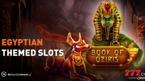 Enjoy the best Egyptian themed slot games at Casino777