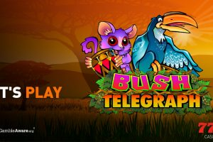 Let's play Bush Telegraph slot from Microgaming