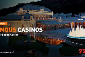 Célèbres Casinos Allemagne