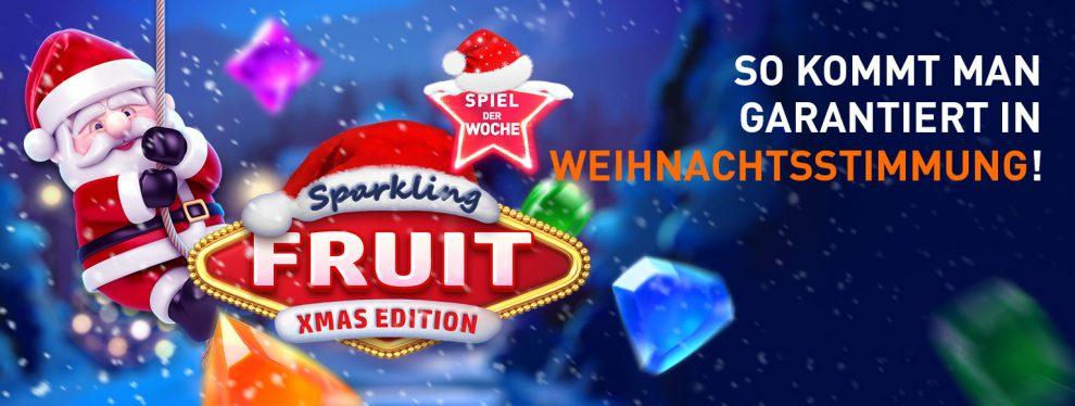 Das ist Sparkling Fruit Xmas Edition!