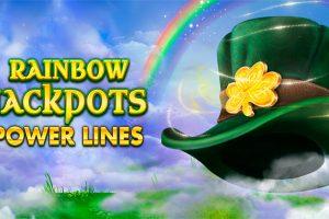 Das ist Rainbow Jackpots Power Lines!