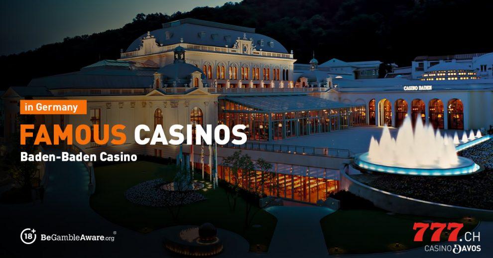 Berühmte Casino in Deutschland, Casino777
