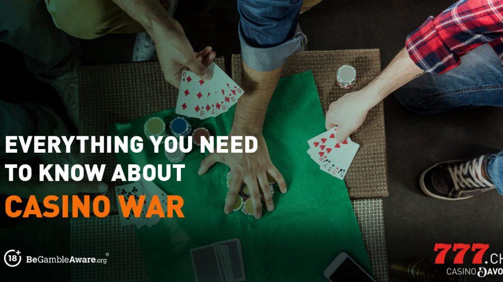 Casino War, Tischspiel, Casino777