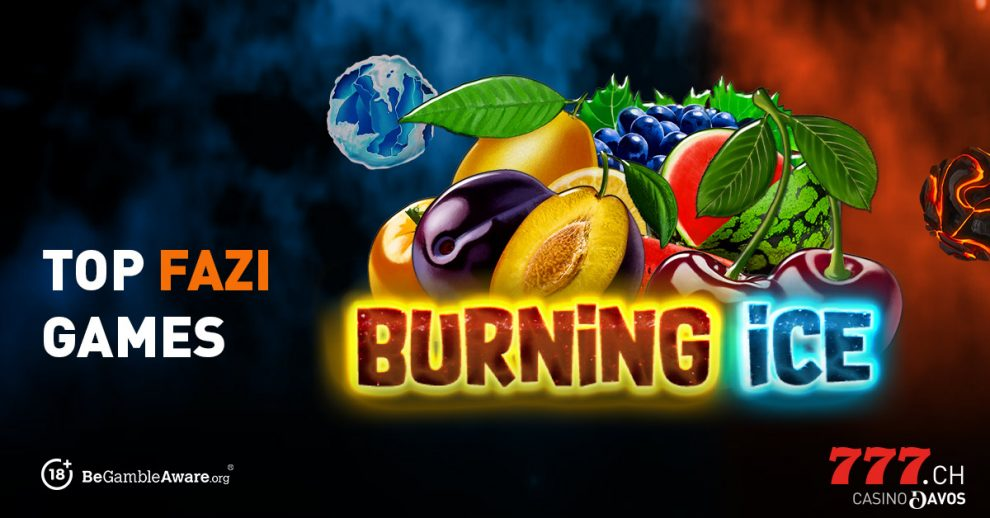 Top Fazi Game, Burning Ice, Slot Game