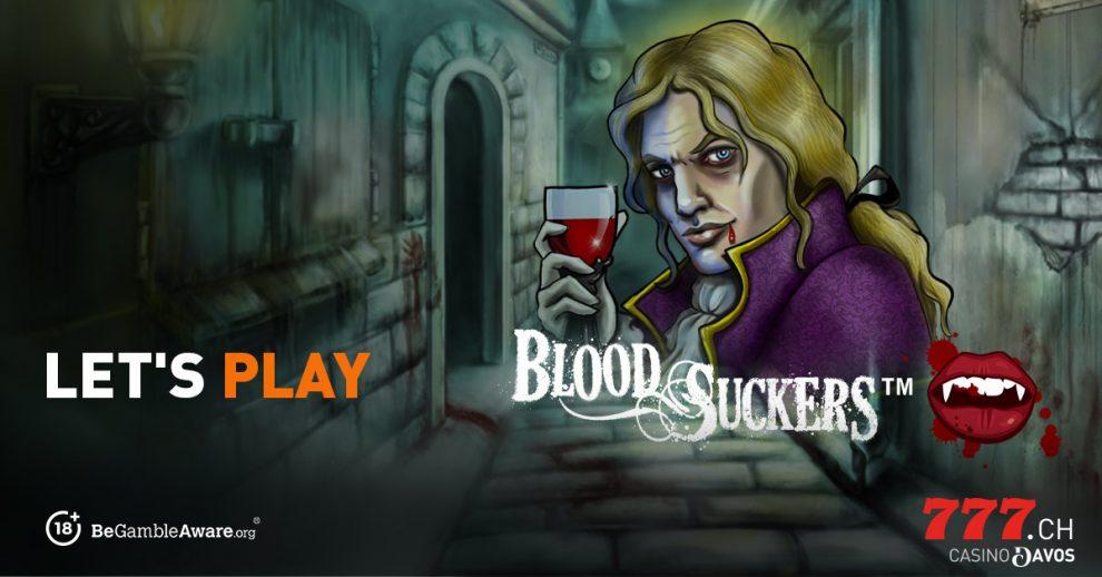 Casino777, Slot Game, Blood Suckers